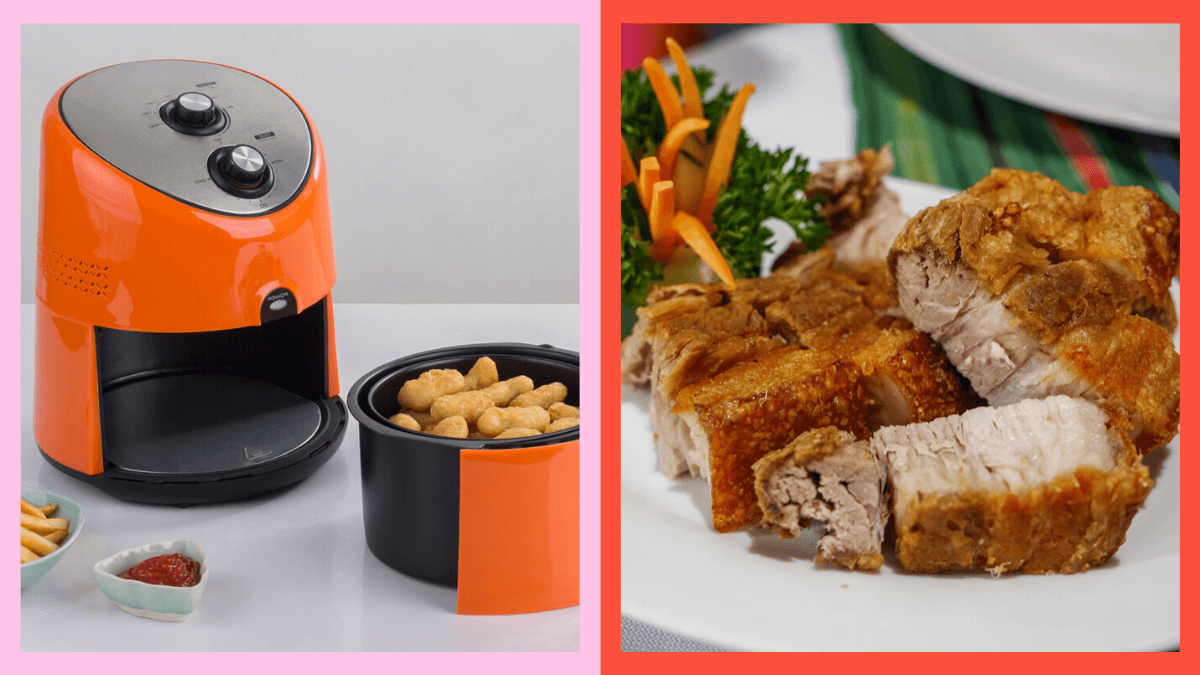 How do you use an air fryer for preparing food
