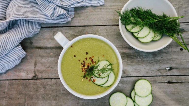 Cucumber & Zucchini Soup