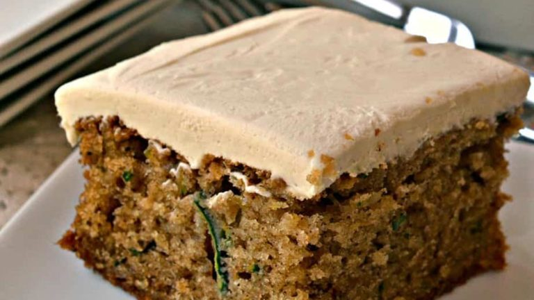 Healthy Zucchini Cake Recipe