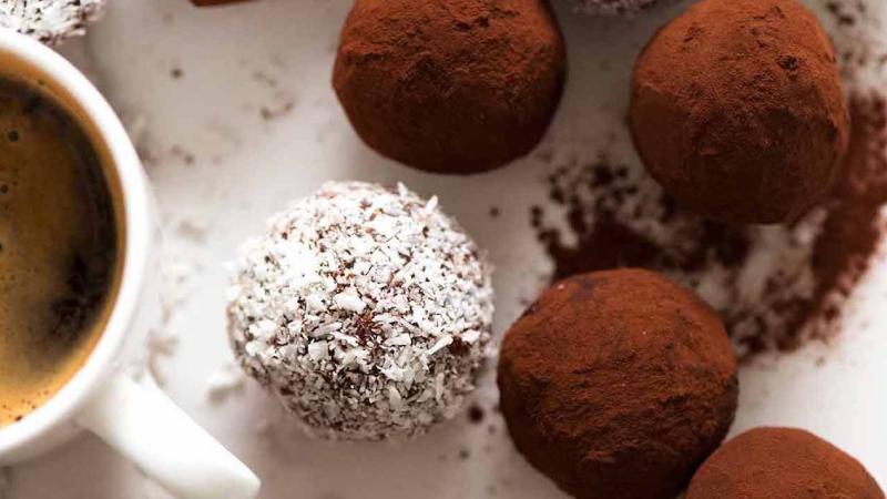 Turning ganache into truffles