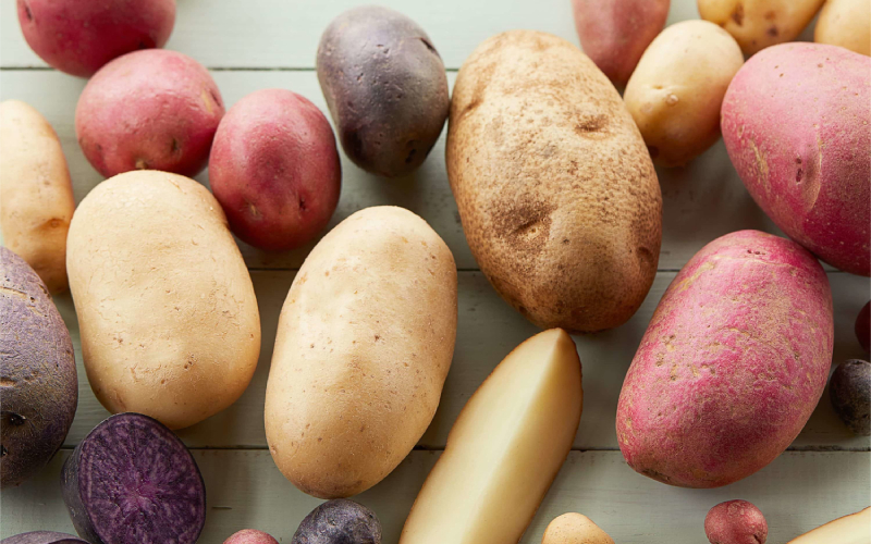 There are many types of potatoes